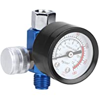 Luchtcompressor G1/4 Alu drukregelaar Verstelbare Spuitpistool Instrument voor Luchtcompressor en Luchtgereedschap