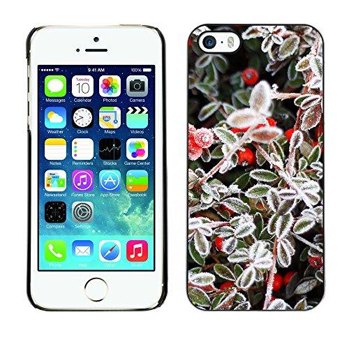 Premio Sottile Slim Cassa Custodia Case Cover Shell // F00009359 une fleur // Apple iPhone 5 5S 5G