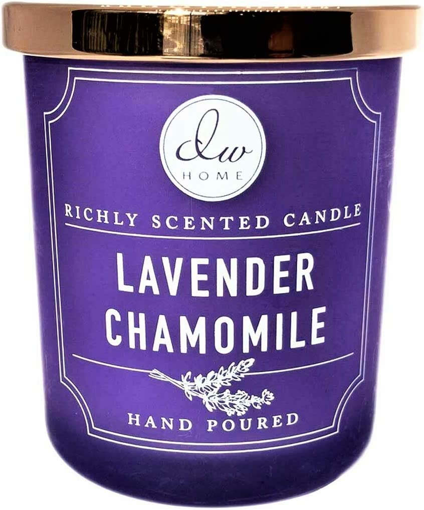 DW Home Richly Scented Candle Lavender-Chamomile, 3-in Tall Votive, 4 Oz.