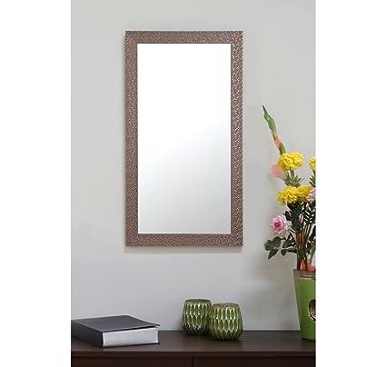 . Home By Nilkamal Contemporary 30X60Cm Mirror  Bronze