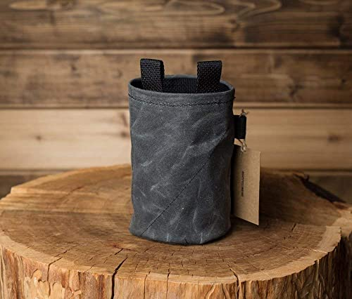 STATIC Waxed Canvas Chalk Bag