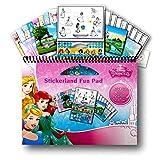 Best Disney Princess 3 Year Old Books - Disney Princess Large Activity Sticker Art Set Review