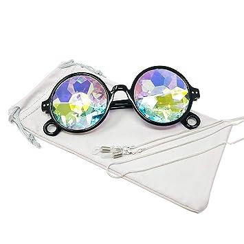 TERAISE Caleidoscopio Gafas Arco Iris Prisma Gafas De Sol ...