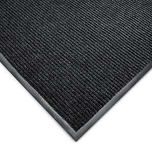 Wearwell Cavalier Ribbed Carpet Mat - Custom-Cut Size - 4'W - Red - 17
