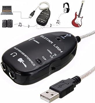 Similitwell - Cable Adaptador de Conexión para Guitarra Eléctrica ...
