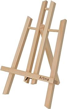 Artina Manchester - Caballete de Pintura Mini de 30 cm para mesas ...