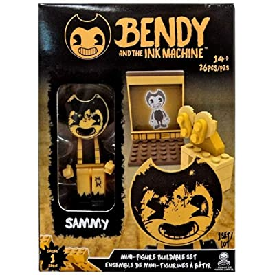 Bendy The Ink Machine Basic Fun Sammy Buildable Mini-Figure Set (26 Pieces): Toys & Games