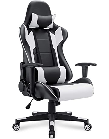 Homall Gaming Chair Racing Office Chair High Back Computer Desk Chair Pu Leather Chair Executive And