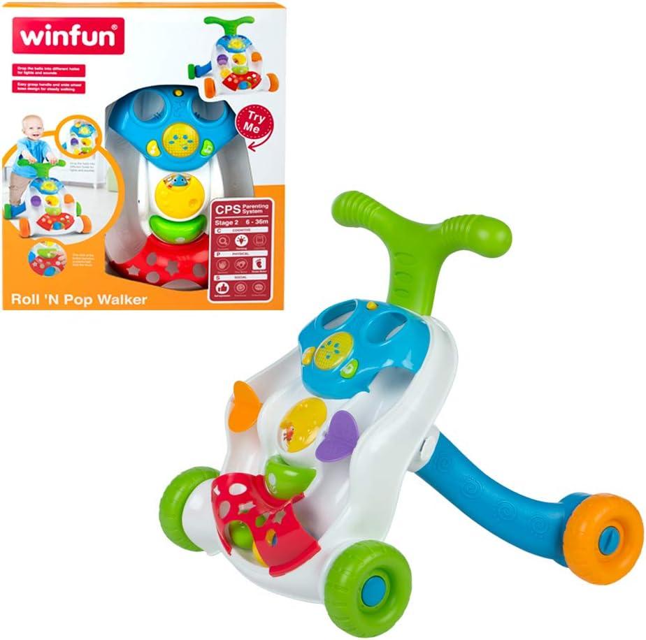 winfun - Andador para bebés con actividades(44528)