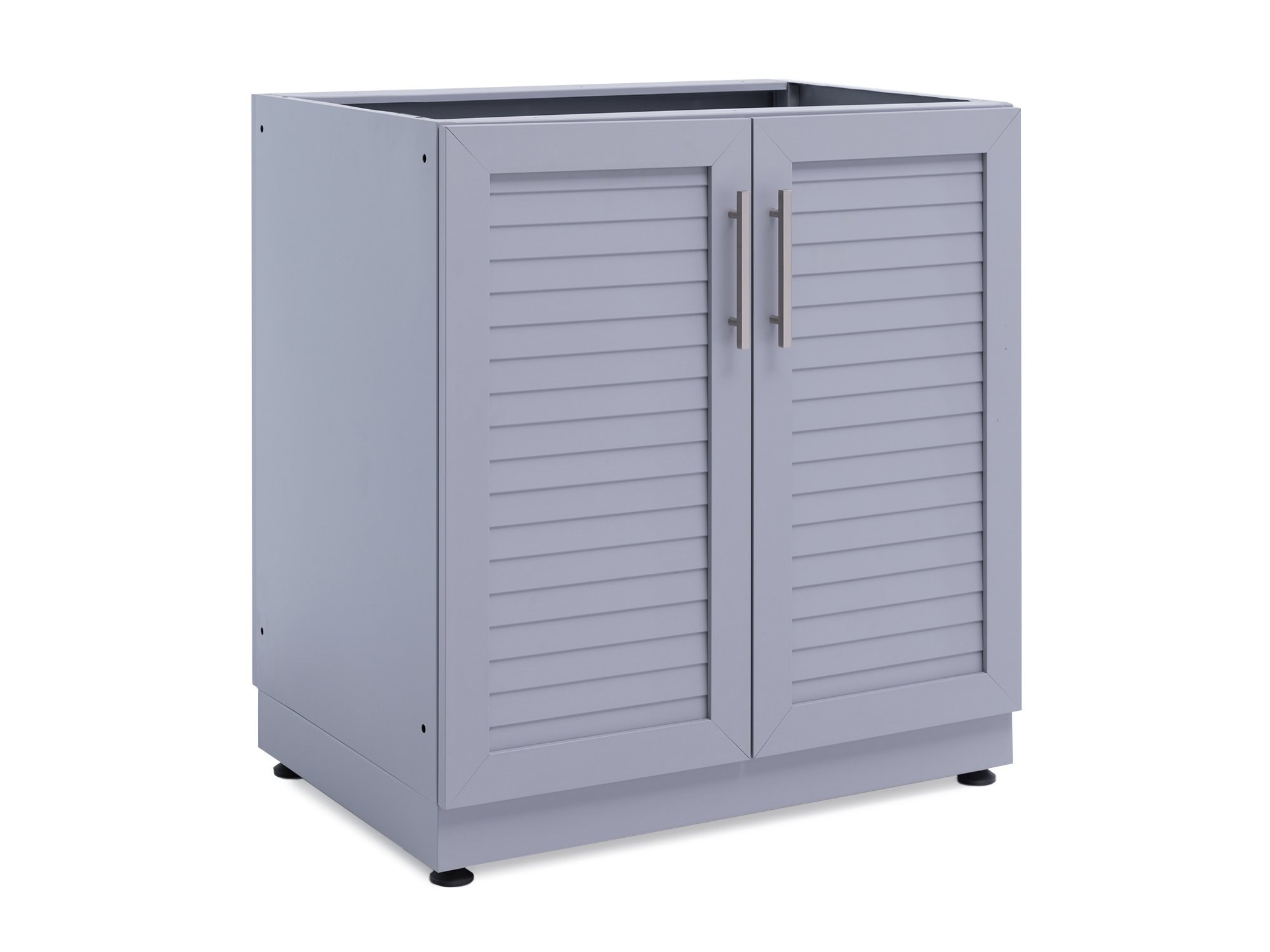 NewAge Products 65400 Outdoor Kitchen 32'' 2-Door Base Cabinet, Coastal Gray