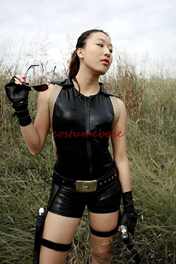 Sexy disfraz de cinturón hebilla de cinturón Tomb Raider Lara ...