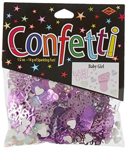 Beistle CN049 Baby Girl Confetti