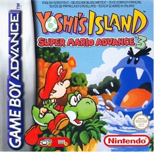 Yoshi's Island: Super Mario Advance 3 (Gameboy Advance Sp Play Gameboy Color Games)