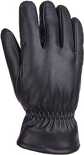 SonMo Guantes Invierno MTB Hombres Guantes Mujer Pantalla Tactil Guantes Hombre Moto Carretera Color Negro,Guantes Un Tamaño
