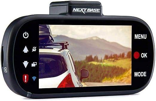 Appareil photo num/érique int/égr/é dans la voiture avec tableau de bord pour QUAD HD 1440p Nextbase 412GW Angle de vision de 140 /° Noir WiFi et GPS