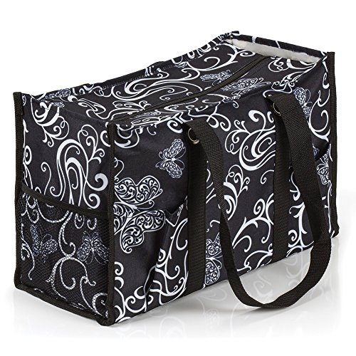 All Purpose Utility Bag - All Purpose Utility Tote Bag (Butterfly Swirl)