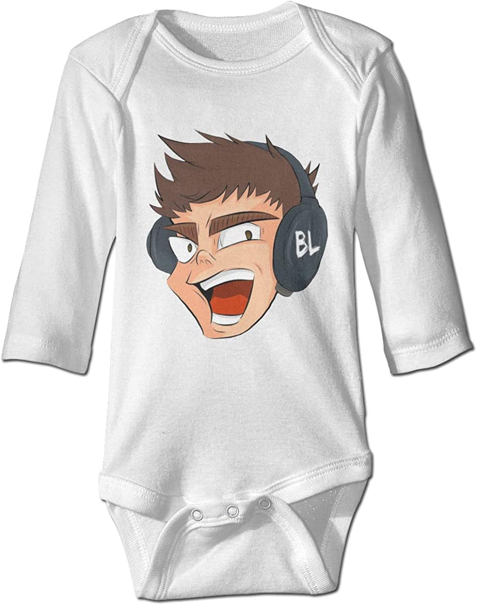 Ltd Shanyujing Jianzhu Co. Lazarbeam Baby Onesies Long Sleeve Cotton Bodysuit for Baby Boys Girls