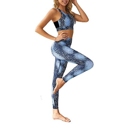 P&KK Ropa de Yoga para Mujer Ropa Deportiva Leggings ...