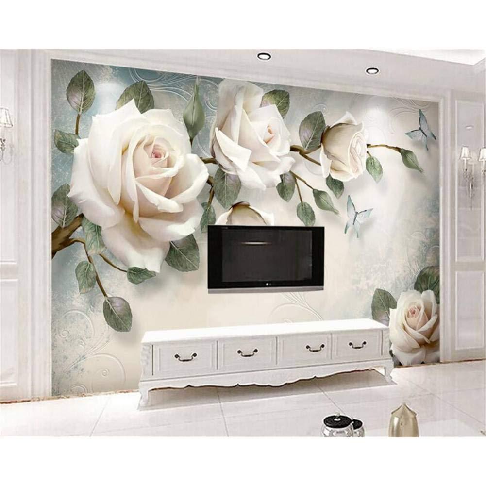 selección larga 400x280cm YYBHTM Papel Tapiz 3D Moderno Simple Simple Simple Pintado A Mano Pintura Al óleo Floral Euro Fondo Parojo Sala De EEstrella Dormitorio TV Mural Fotos  genuina alta calidad