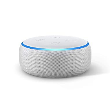 Echo Dot (3rd Gen) - New and improved smart speaker with Alexa - Sandstone