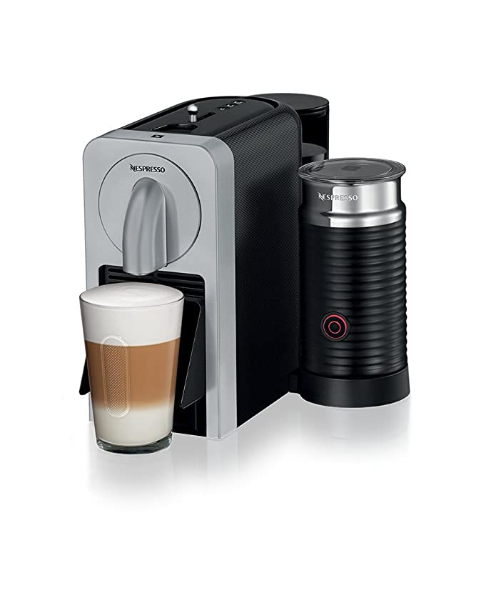 Nespresso Prodigio and Milk Coffee Maker, Silver by Magimix ...