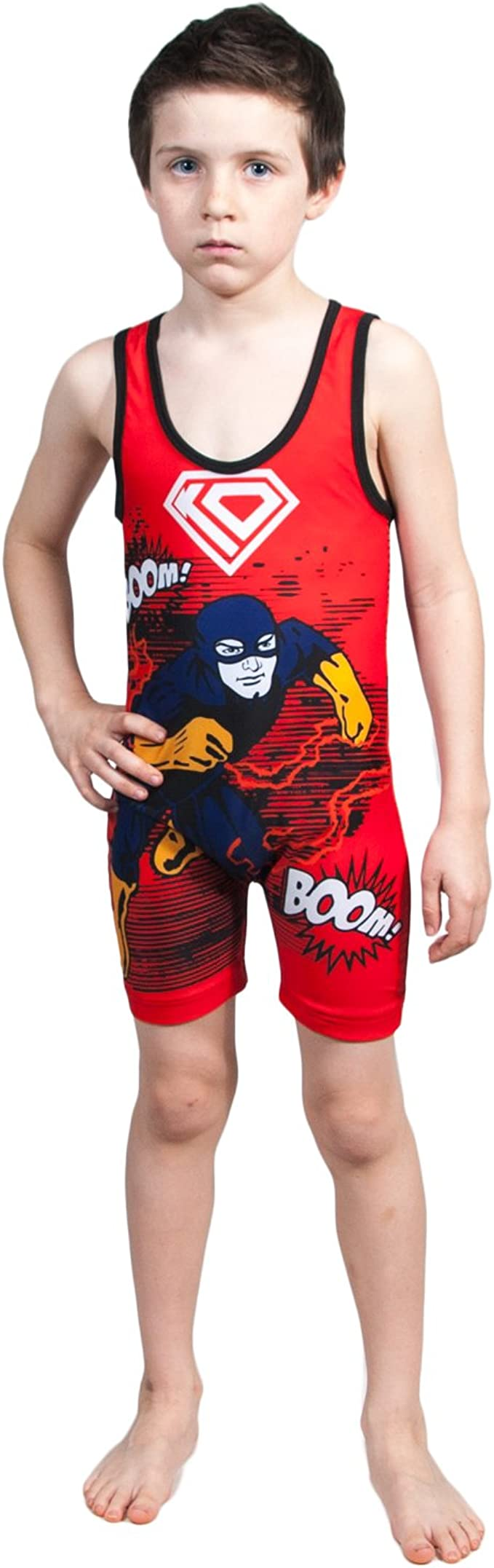 Knee Pad Covers and Kickpad Covers Set Pro Wrestling Gear Singlet Made To Order Wrestling Singlet Men\u2019s Singlet  Plain Wrestling Gear