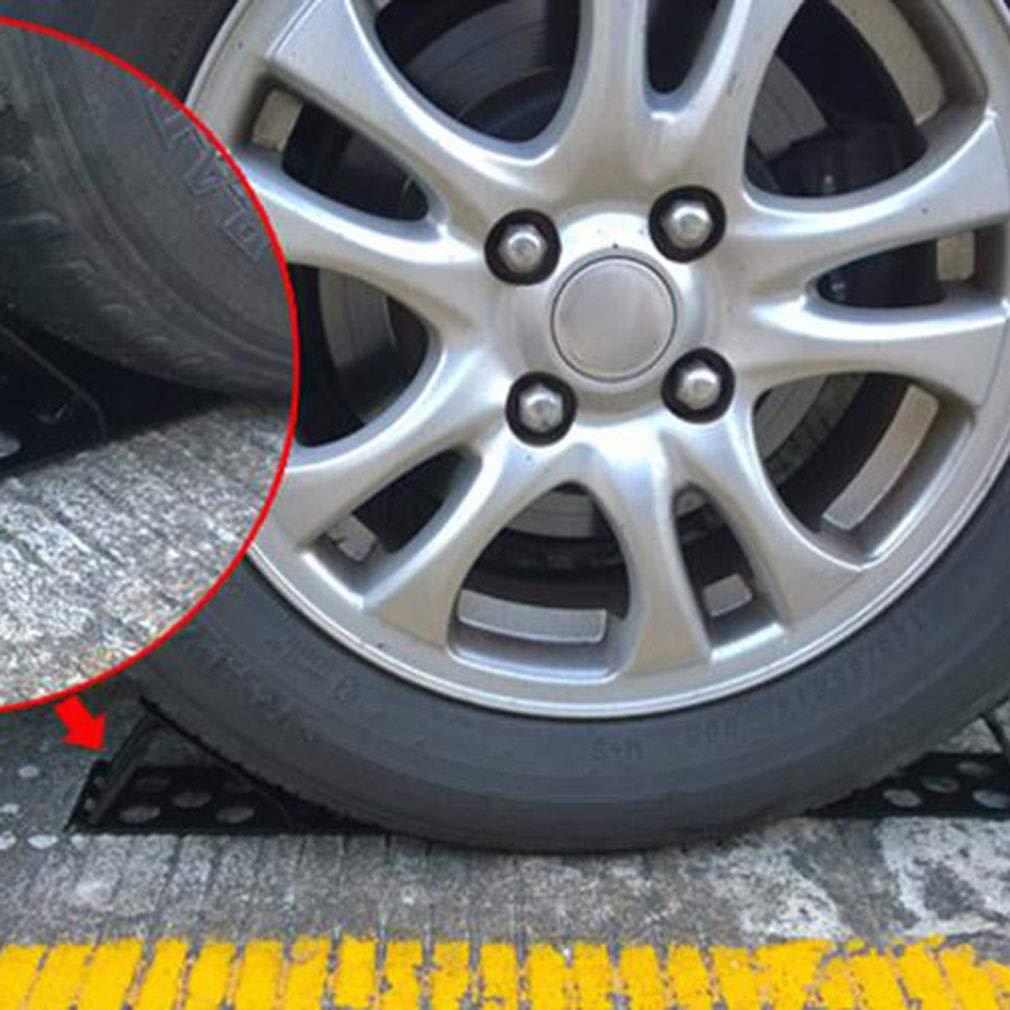 Pinhan 2 Pcs//Set Heavy Duty Cales Roues Professionnel Antid/érapant V/éhicule Voiture Voiture Roue De Pneu Cale Stop Bloc pour Car Car Car Remorques