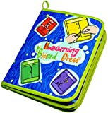 Yoovi Montessori Learn to Dress Boards Toys Quiet Book - Zip, Snap, Button, Buckle, Lace and Tie Early Learning Basic Life Skills Toys Book
