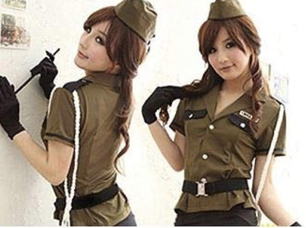 el personal de la mujer uniforme militar, policial traje de 7 ...