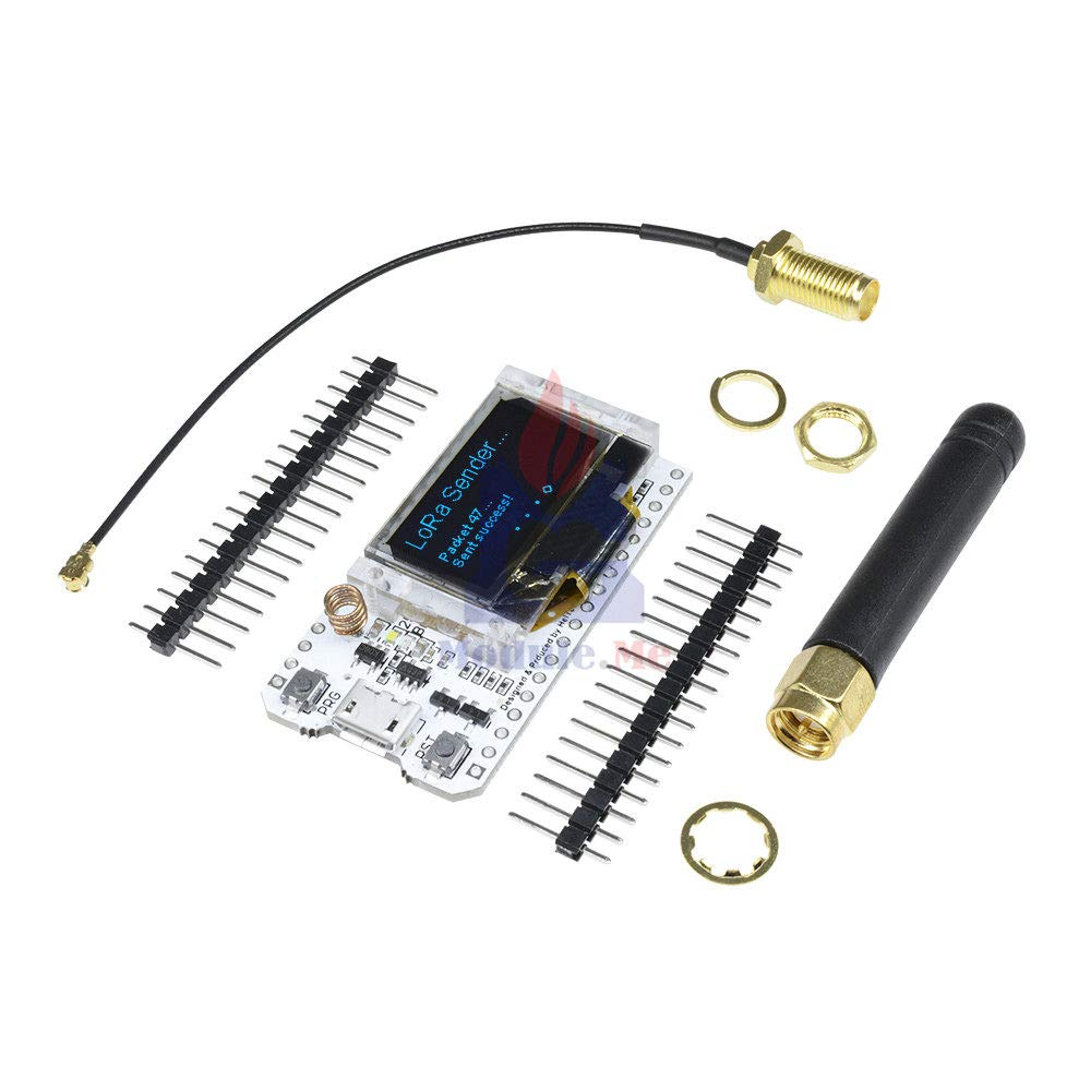 LoRa 868MHz-915MHz 0.96 OLED Display ESP32 ESP-32S WiFi Bluetooth Development Board Antenna Transceiver SX1276 IOT for Arduino