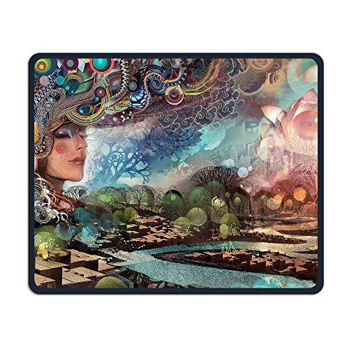 Smooth Mouse Pad Painting Women Face Mobile Gaming MousePad Work Mouse Pad Office Pad -