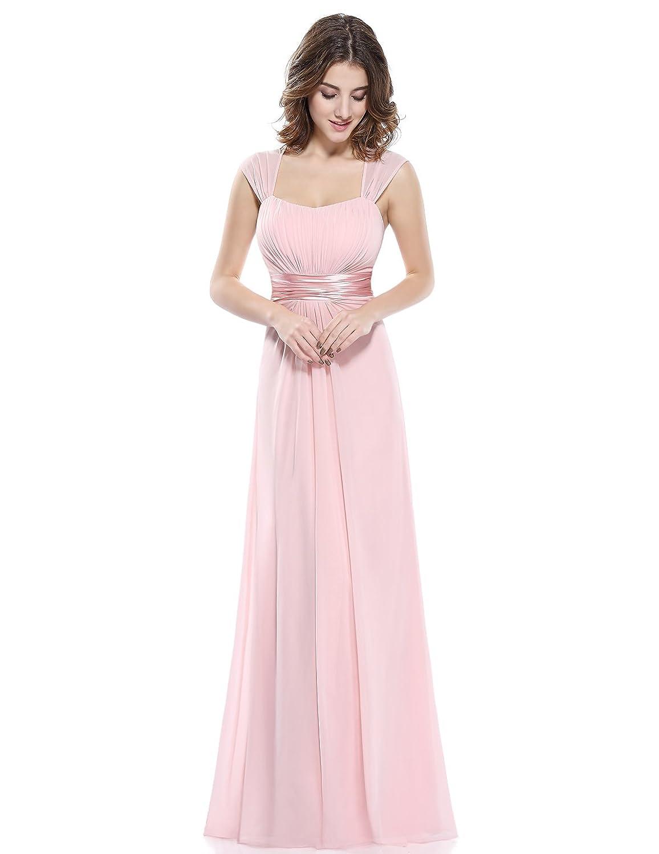 Ever Pretty Damen Einfach Elegant Abendkleider Brautjungfernkleid ...