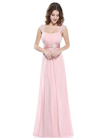 507344336f6 Ever-Pretty Robe Longue Femme Soirée Robe de la Demoisellle d ...