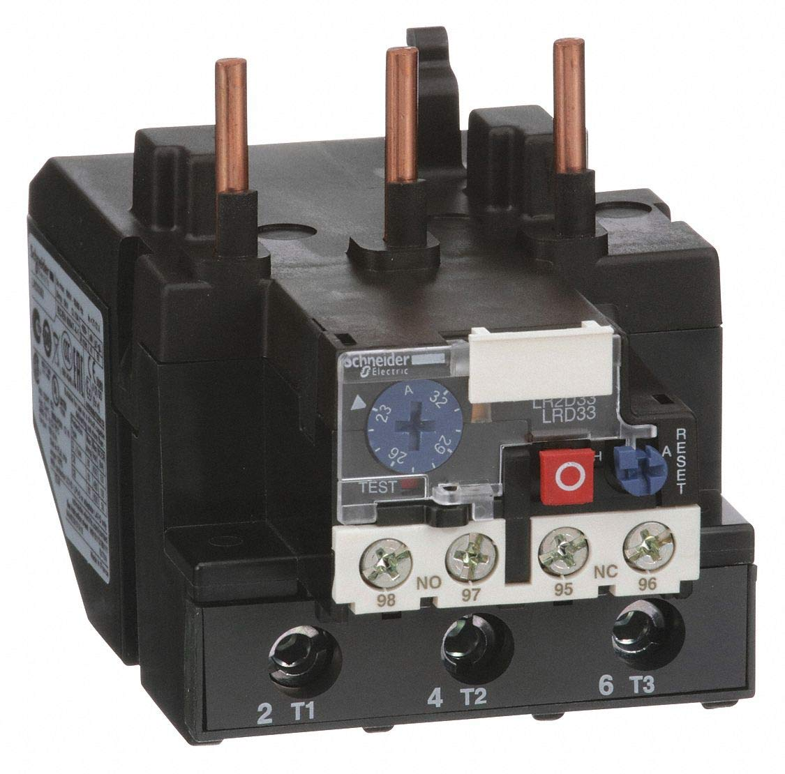 23 to 32A Class 10 690V 3P Ovrload Relay
