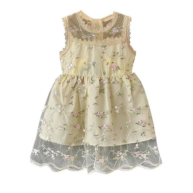 Tefamore Tefamore Baby Kindermädchen Outfit Kleidung Floral Festzug ...
