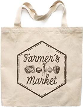 Vintage Flowers Market Tote Book Bag Teacher Tote Farmers Market Shopping Tote Housewarming Gifts Reusable Cotton Tote Craft Fair Tote