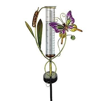 Solarbetriebener Schmetterling Gartenfigur