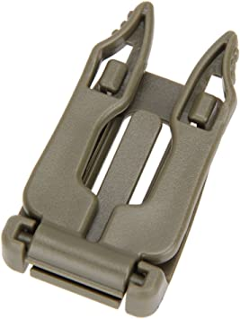 Tactical Molle Strap EDC Outdoor Backpack Bag Webbing Carabiner Buckle Clip