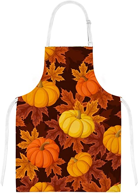 Ouqiuwa Thankful Turkey Pumpkin Owl Maple Leaf Give Thanks Oven Mitt//Glove for Easy Gripping Set of 2 Heat Resistant Kitchen Accessories