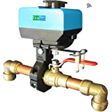 EcoNet Controls EVC200-HCSML The Bulldog Valve Robot, Z-Wave Water Valve, Smart Home Controller Required, Easy to…
