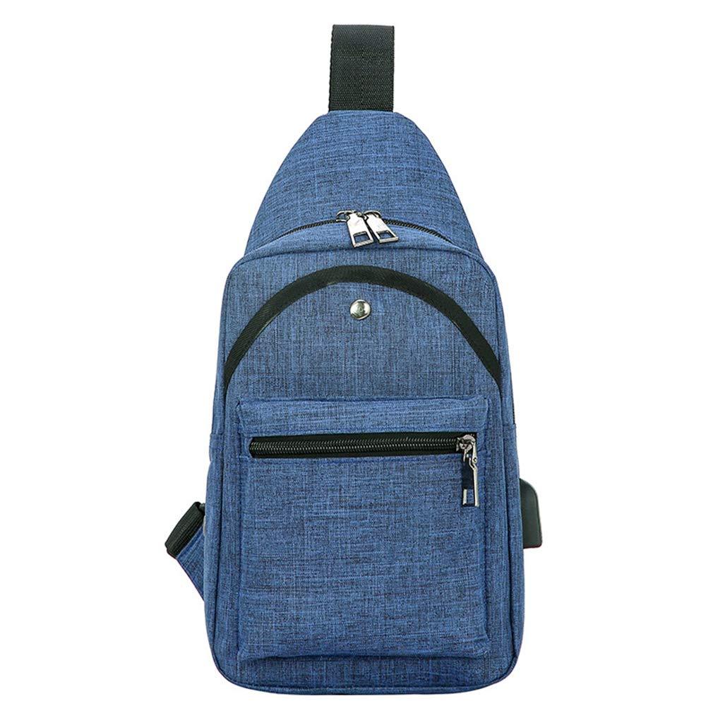 JKLGNN Anti-Theft Backpack Crossbody Sling Bag Waterproof Multipurpose Daypack Outdoor Canvas Messenger Bag Shoulder Handbag Sport Casual Business School,Rosered
