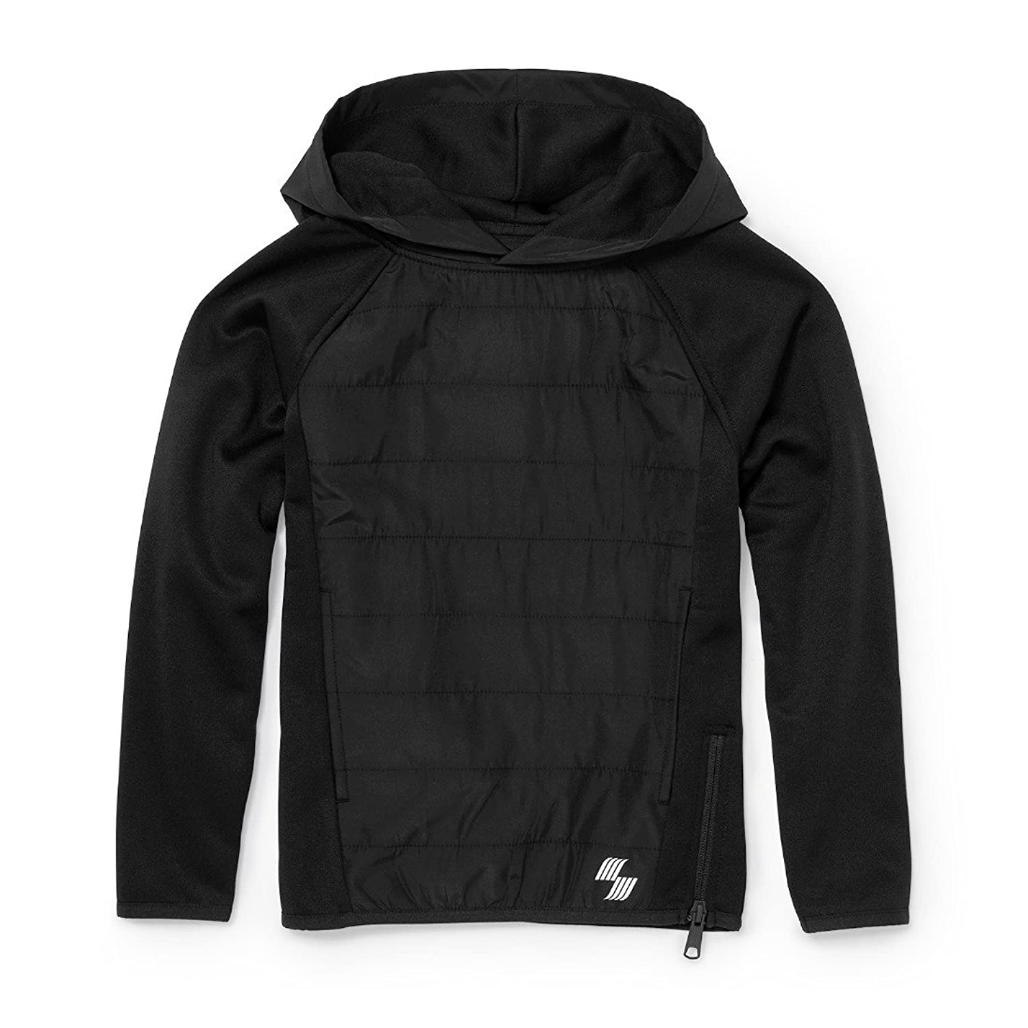 hot The Children's Place Big Boys' Quilted Pull-on Hoodie on sale