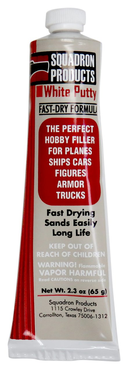 Squadron Products Squadron Tools White Putty Carded 2.3oz Building Kit
