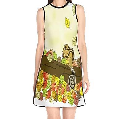 Fall Mini Dress Tank