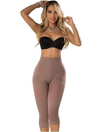 67e92902a46ce Rose 21993 Butt Lifter Capri Shapewear for Women | Fajas Colombianas Licras  Cocoa XS