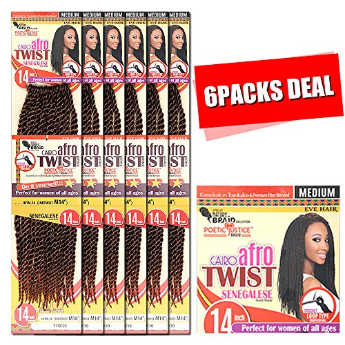 [MULTI PACKS DEAL] NEW INSPIRE BEYONCE BRAID STYLE / AFRICAN NATURE KANEKALON & TOYOKALON SENEGALESE TWIST BRAID 14
