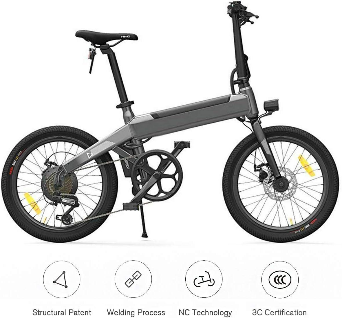 Fy-Light Bicicleta Eléctrica - Ligera Plegable 20 E-Bike Mountain Sport con Batería de Litio 36V 10Ah 6 Velocidades para Adultos: Amazon.es: Deportes y aire libre