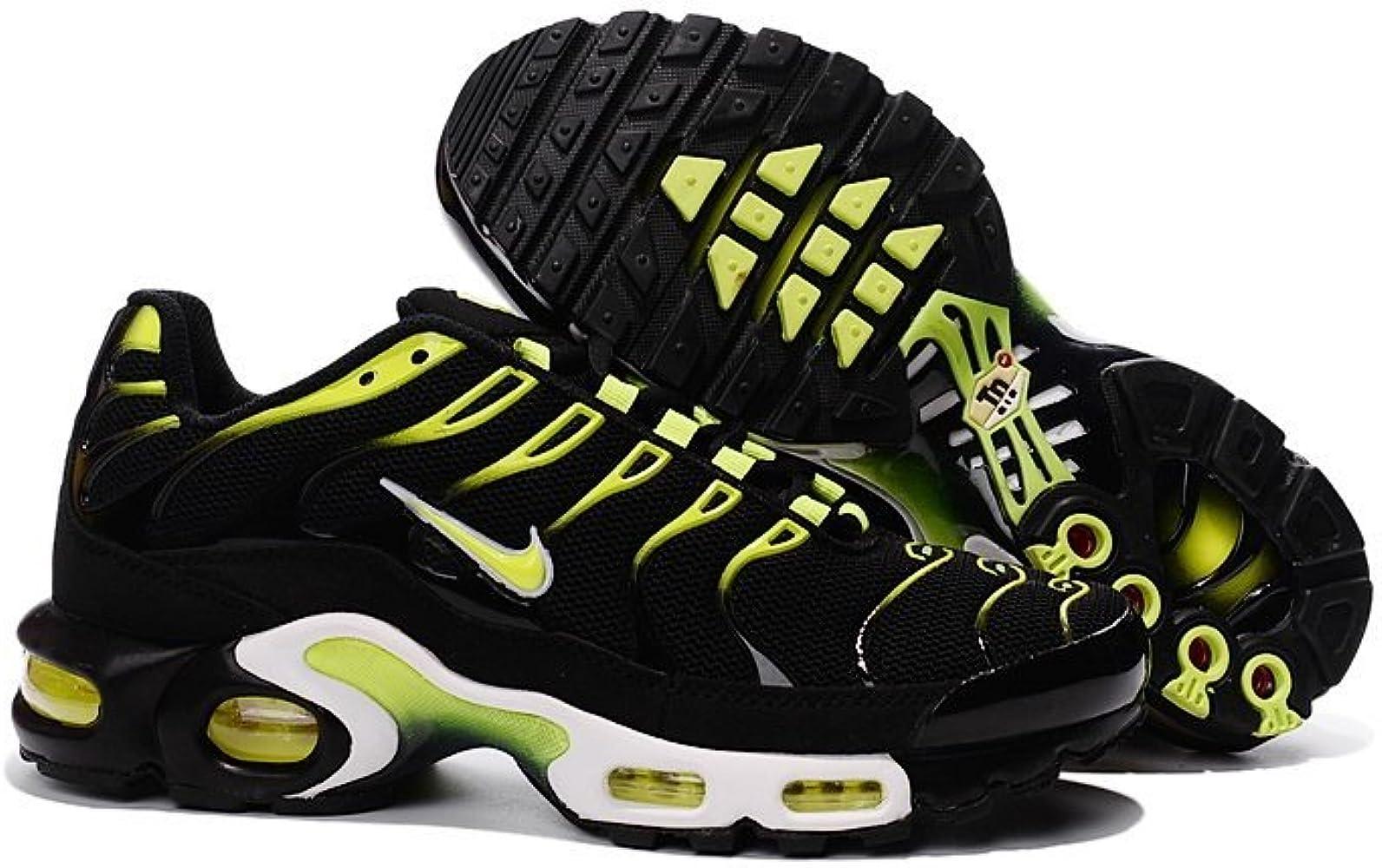 Nike Air Max Plus Noir et Jaune (39): : Chaussures