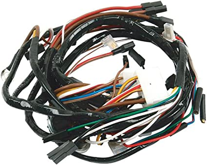 12 volt wiring harness wire plus amazon com ford tractor main wiring harness 12 volt c5nn14n104r  ford tractor main wiring harness