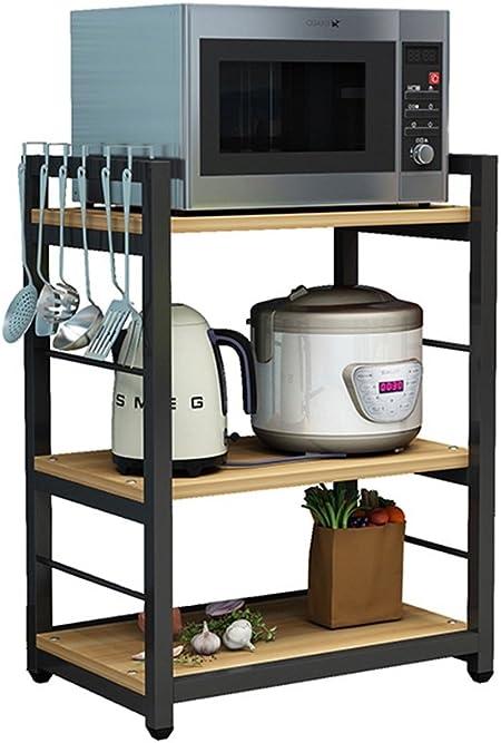 Zkkwll Mobile Cucina Scaffale Da Cucina Porta Forno A Microonde In Stile Nordico Cucina Multifunzionale Portaoggetti In Legno 60 Cm 40 Cm 80 Cm Carrello Cucina Amazon It Casa E Cucina